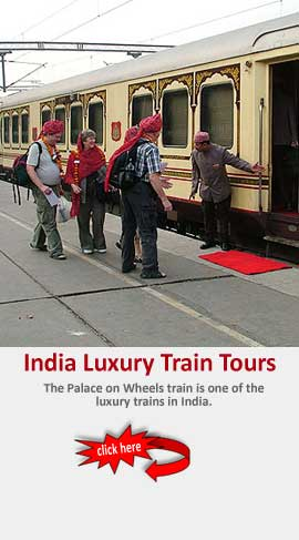 Luxury Train in Rajasthan